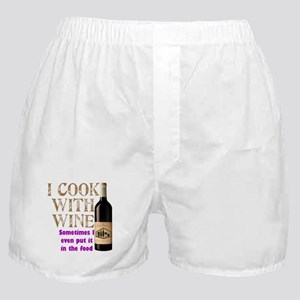 Wine Cook Boxer Shorts