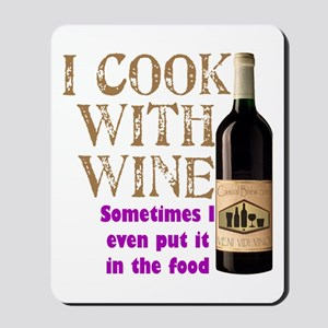 Wine Cook Mousepad