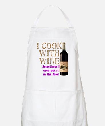 Wine Cook BBQ Apron