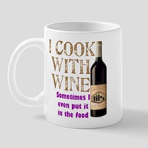Wine Cook Mug