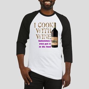 Wine Cook Baseball Jersey