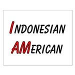 Indonesian American Small Poster