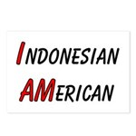 Indonesian American Postcards (Package of 8)