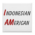 Indonesian American Tile Coaster