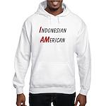 Indonesian American Hooded Sweatshirt