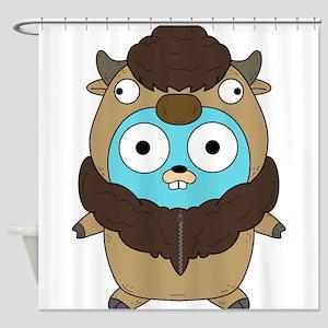 Buffalo Gopher Shower Curtain
