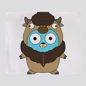 Buffalo Gopher Throw Blanket