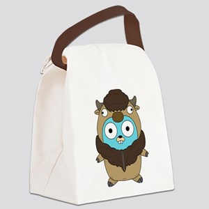 Buffalo Gopher Canvas Lunch Bag