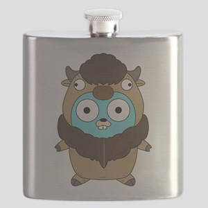 Buffalo Gopher Flask