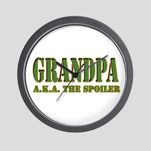 CLICK TO VIEW grandpa the spo Wall Clock