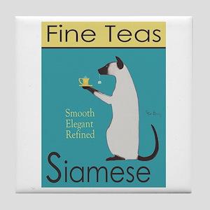 Siamese Fine Teas Tile Coaster