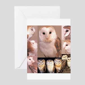 Owls70 Greeting Cards