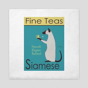 Siamese Fine Teas Queen Duvet