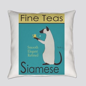 Siamese Fine Teas Everyday Pillow