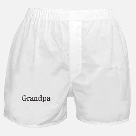 Grandpa steel CLICK TO VIEW Boxer Shorts