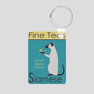 Siamese Fine Teas Aluminum Photo Keychain