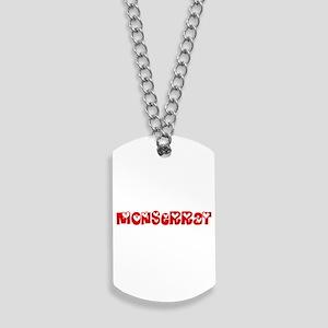 Monserrat Love Design Dog Tags