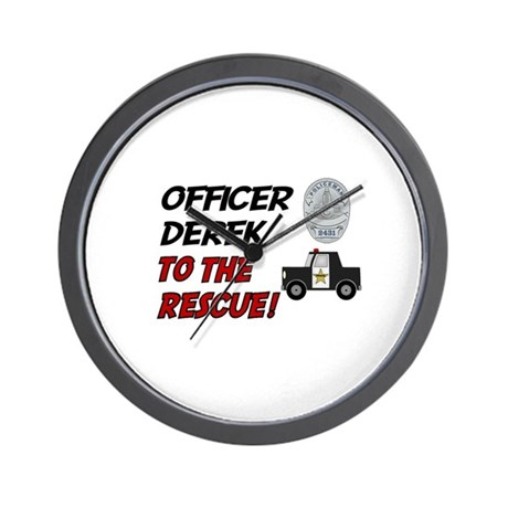 Derek to the Rescue! Wall Clock