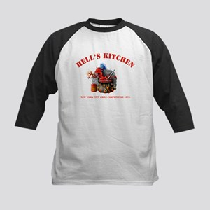 Hells Kitchen Kids Baseball Jersey