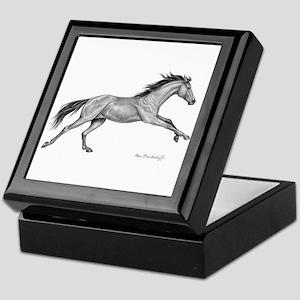 Thoroughbred Horse ~ Keepsake Box