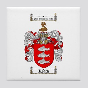 Roach Coat of Arms Tile Coaster