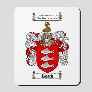 Roach Coat of Arms Mousepad