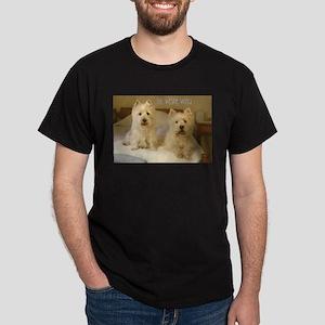 The Westie Wing 2 Dark T-Shirt