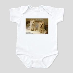 The Westie Wing 2 Infant Bodysuit