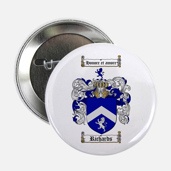 "Richards Coat of Arms 2.25"" Button (100 pack)"