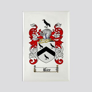 Rice Coat of Arms Rectangle Magnet (10 pack)