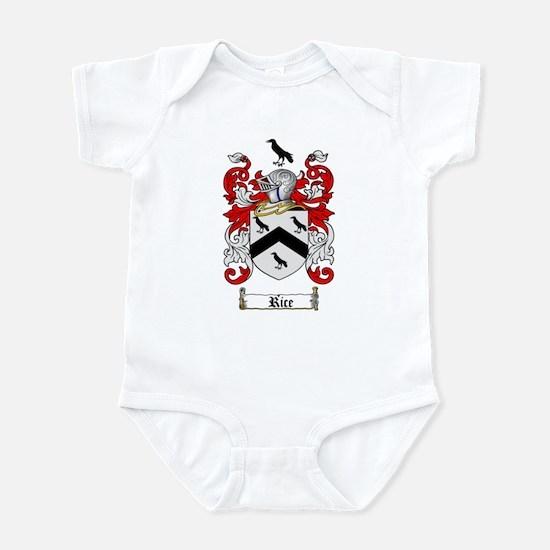Rice Coat of Arms Infant Bodysuit