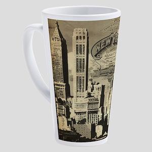 Vintage USA New York 17 oz Latte Mug