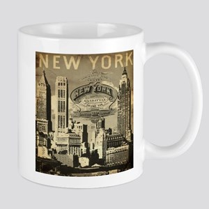 Vintage USA New York Mugs