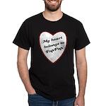 My Heart Belongs to Pap Pap Dark T-Shirt