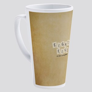 Scrabble Eighty Five 17 oz Latte Mug