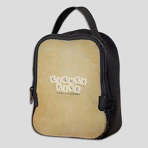 Scrabble Eighty Five Neoprene Lunch Bag