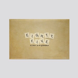 Scrabble Eighty Five Rectangle Magnet