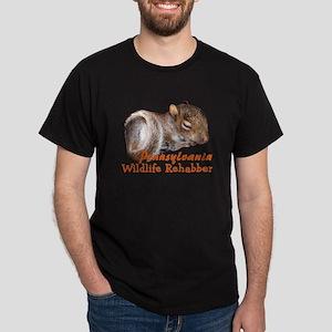 Pennsylvania Wildlife Rehabbers Dark T-Shirt