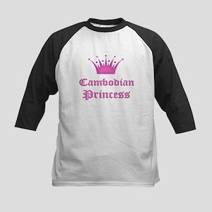 Burundian Princess Kids Baseball Jersey