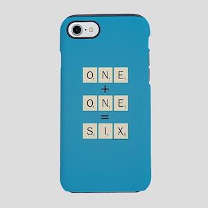 Scrabble One Plus One Six iPhone 8/7 Tough Case