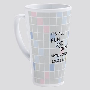 Scrabble All Fun and Games 17 oz Latte Mug