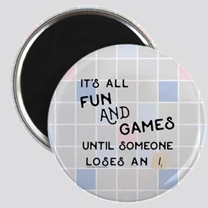 Scrabble All Fun and Games Magnet