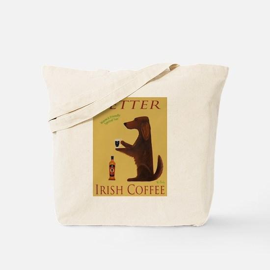 Setter Irish Coffee Tote Bag