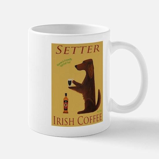 Setter Irish Coffee Mug
