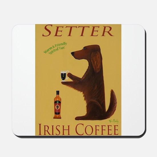 Setter Irish Coffee Mousepad