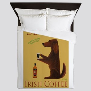 Setter Irish Coffee Queen Duvet