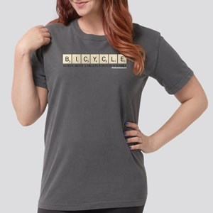 Scrabble Bicycle Milli Womens Comfort Colors Shirt