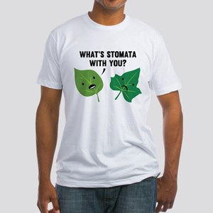 Stomata Fitted T-Shirt