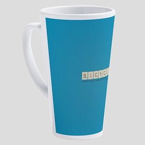 Scrabble Bicycle Million Points 17 oz Latte Mug