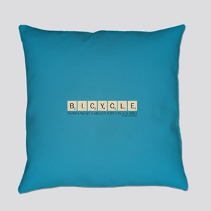 Scrabble Bicycle Million Points Everyday Pillow